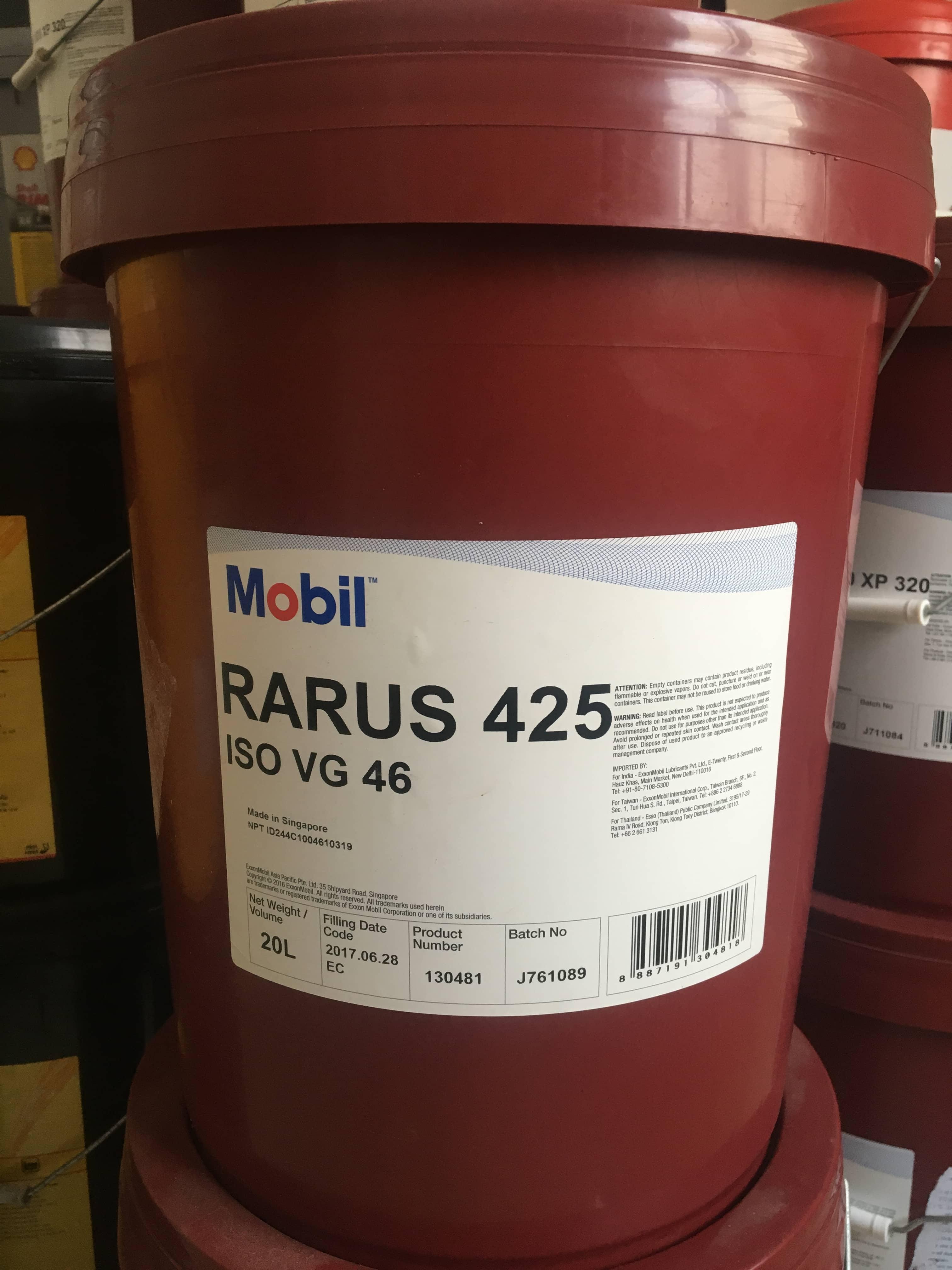 dầu máy nén khi Rarus 425 xô 20L
