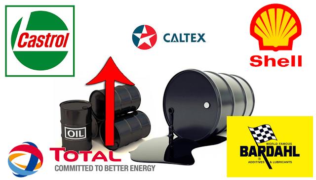 Các hãng dầu nhớt Việt Nam đồng loạt tăng giá trong 2017