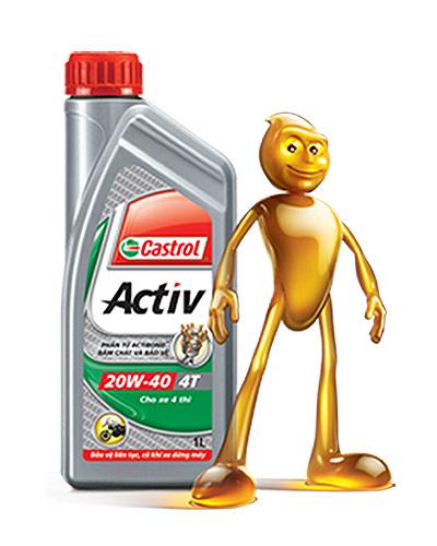 DẦU NHỚT CASTROL ACTIV 4T